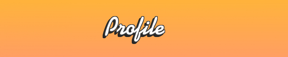 Profile Header centred